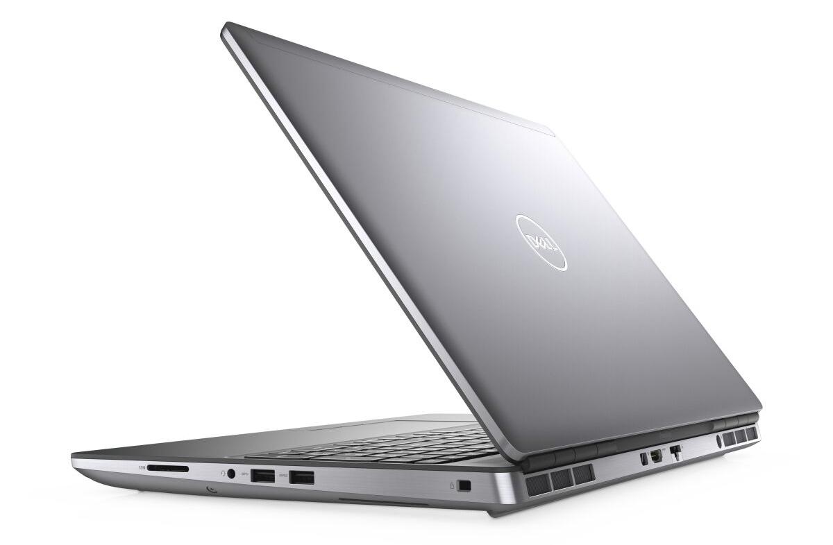 Dell Precision 7550 với thiết kế mỏng, nhẹ